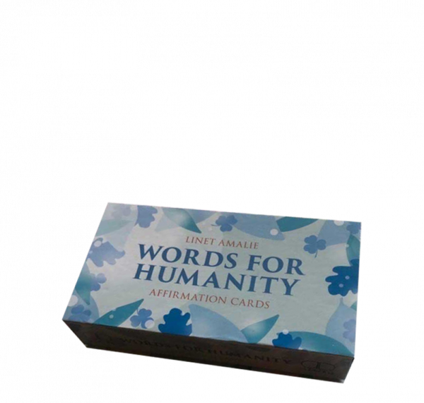 Words for Humanity Cards by Dr Linet